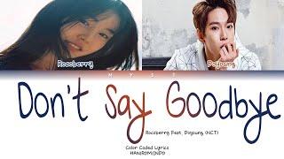ROCOBERRY & DOYOUNG (NCT) - DON'T SAY GOODBYE Lirik Terjemahan Indonesia   SUB INDO