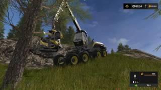 Farming Simulator 17 2016 Лесозаготовка Ponsse Лесное Безумие No Comments Добавили Вес Маш