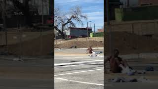 High on PCP , and naked on the street corner- Welcome to Kansas City Missouri