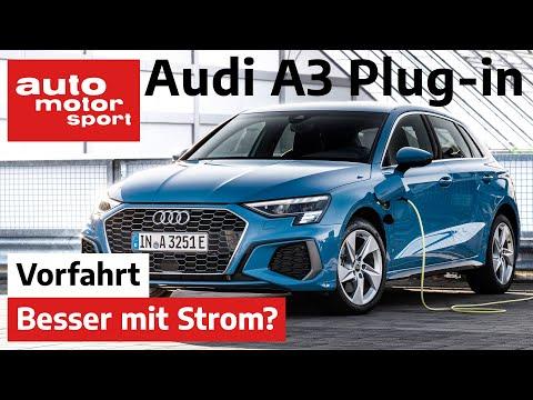 Audi A3 Sportback 40 TFSI e (2020): Was bringt der E-Motor? - Fahrbericht/Review Iauto motor & sport