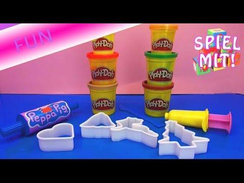 Play Doh Kinder Knete Weihnachtsanhänger Infovideo für das große Weihnachtsprojekt! | deutsch