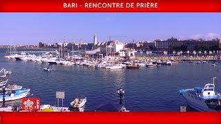 Pape François - Bari - Rencontre de prière