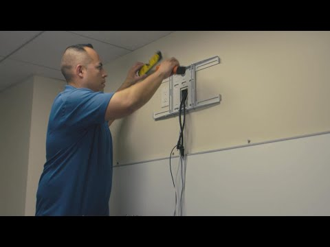 Installation 5: How to Mount the Wall Plate and Run Cables
