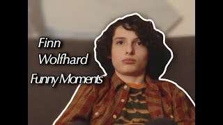 Finn Wolfhard - Funny Moments
