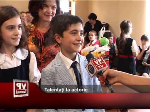 Talentaţi la actorie