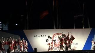 舞華(光が丘よさこい2012受賞演舞・百花繚乱~心一つに~)
