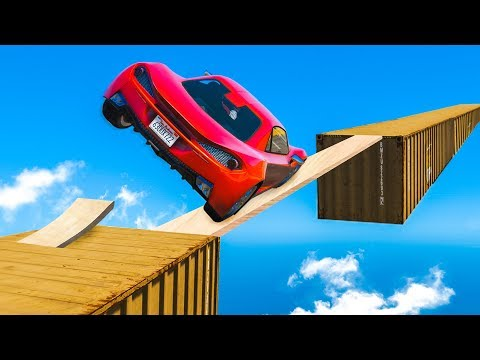 IMPOSSIBLE CAR SKILL TEST! (GTA 5 Funny Moments)