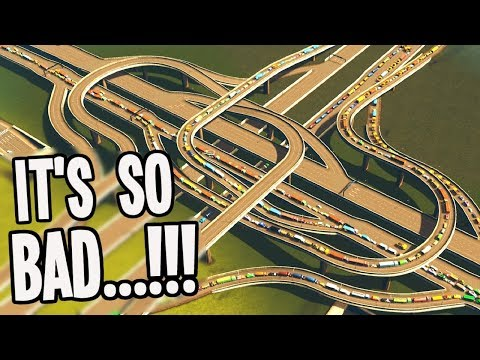 What to do when Traffic HATES YOU in Cities Skylines Fix Your City!