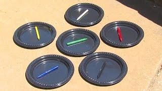 Sun, Heat Melt Crayons During Hot Summer Temperatures In Tulsa