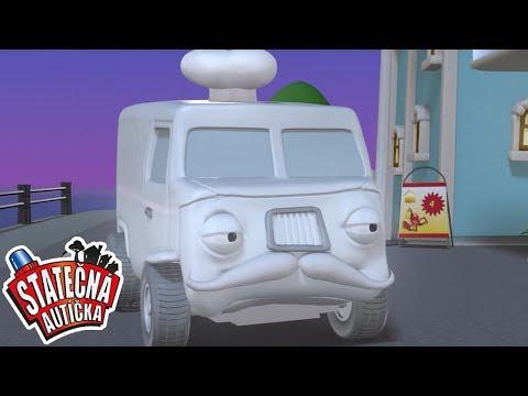 Statečná autíčka | Kreslené pro Děti | Animované pro Děti