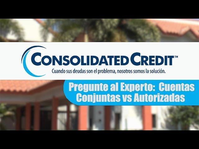 Cuentas conjuntas vs autorizadas