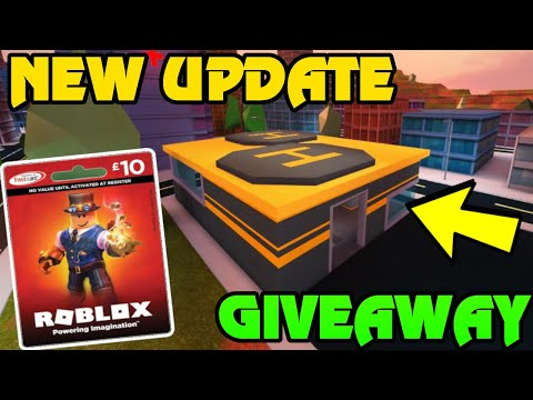 🔴 FREE ROBUX CARD CODE GIVEAWAY HAPPENING NOW!! | Roblox Jailbreak