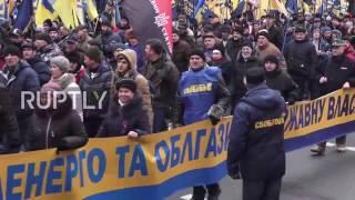 Ukraine: Far-right groups mobilise for day of