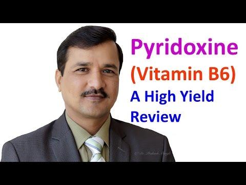 Pyridoxine Vitamin B6 - High Yield Review