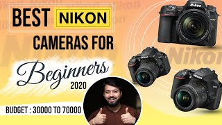 Best Nikon DSLR Cameras For Beginners In 2020 (Hindi)