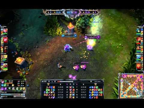 lulu(madlife) vs Ezreal   (Rank game)