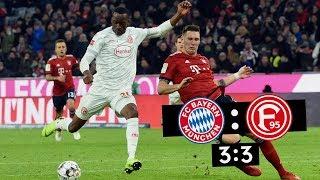 F95-Spieltag | FC Bayern München Vs. Fortuna Düsseldorf 3:3 | Dreierpack Dodi Lukebakio