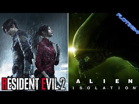Resident Evil 2 HARDCORE & Alien Isolation NIGHTMARE (STREAM)