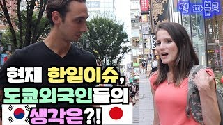 What do Foreigners in Japan think of the Korea-Japan Issue?