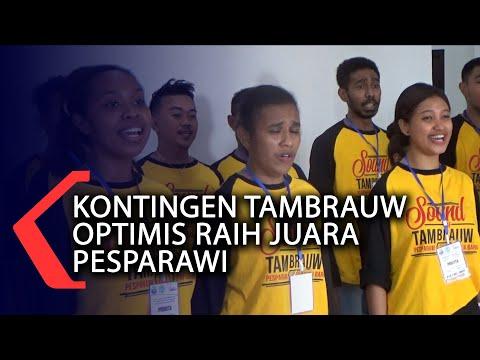 Kontingen Tambrauw Optimis Raih Juara Pesparawi