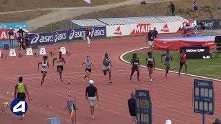 Angers 2019 : Finale 100 m Cadettes (Serena Kouassi en 11''81)