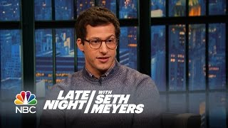 Andy Samberg: The Lonely Island's New Office Is Amazing - Late Night with Seth Meyers