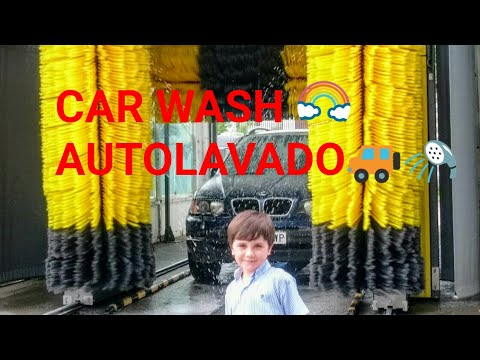 AUTOLAVADO de COCHES para NIÑOS | CAR WASH FOR KIDS | PUENTE de LAVADO AUTOS y CARROS