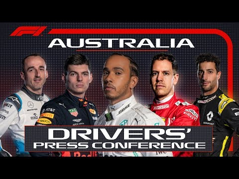 2019 Australian Grand Prix: Pre-Race Press Conference