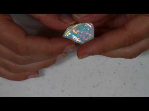 Unique and Wildly Beautiful Opal From Welo Ethiopia 14 Carats