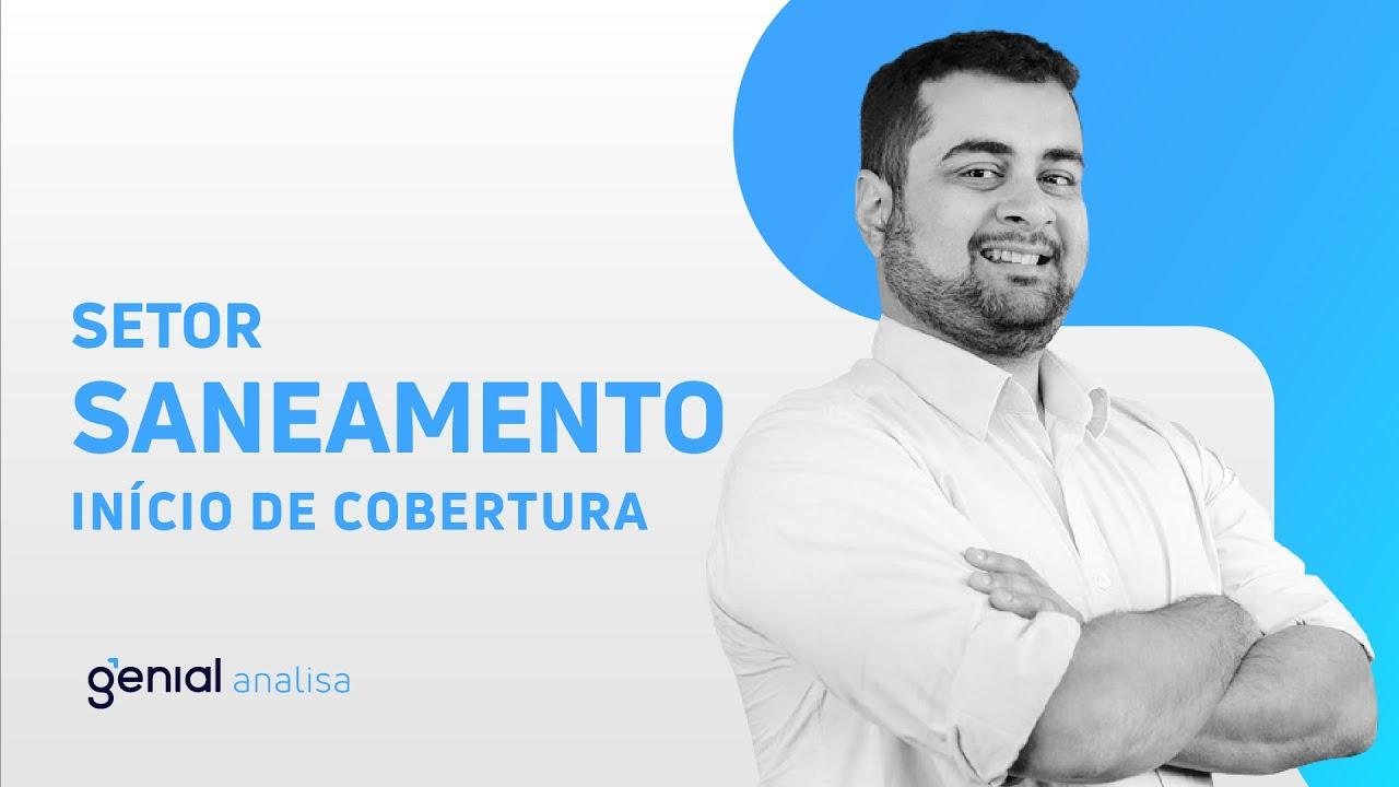 Thumbnail do vídeo: Início de Cobertura – Setor de Saneamento // Vitor Sousa