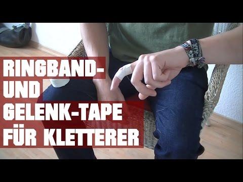Finger tapen: Tapes für Ringbänder und Gelenkprobleme