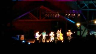 Steeldrivers Ghost of Mississippi featuring Adam Wakefield at Chantilly farms in floyd Va