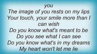 Anthony Callea - Best I Can Be Lyrics