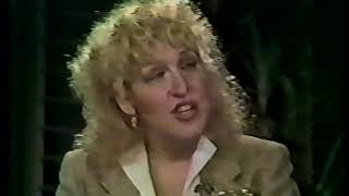 Bette Midler - Phil Donahue Interview about ' The Rose'  (Part 1)