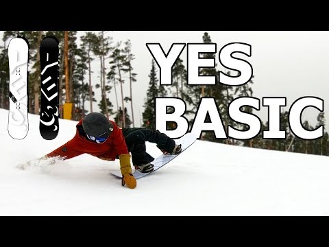 YES Basic Snowboard Review