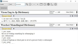 MIA Dictionary Add-on | Installation and Basic Feature Tutorial