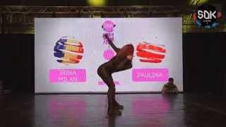 IRINA MILAN (Romania) vs. PAULINA (Poland) - Vogue Semifinal SDK World Battle Tour 2015