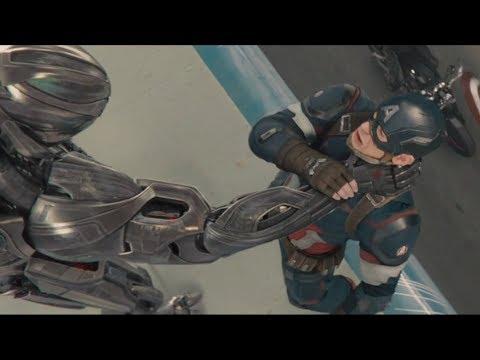 """Капитан Америка против Альтрона - """"Мстители: Эра Альтрона"""" отрывок из фильма"""
