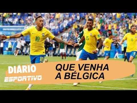 Diário Esportivo comenta a vitória do Brasil sobre o México