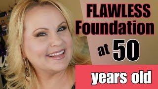Foundation For Mature Skin | Wrinkles | Large Pores | Age Spots | Redness