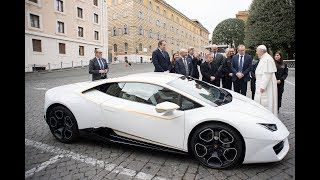 Vatican Connections: Money from the pope's Lambo goes to…