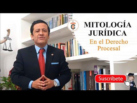 MITOLOGÍA JURÍDICA en el Derecho Procesal - Tribuna Constitucional 148 - Guido Aguila Grados