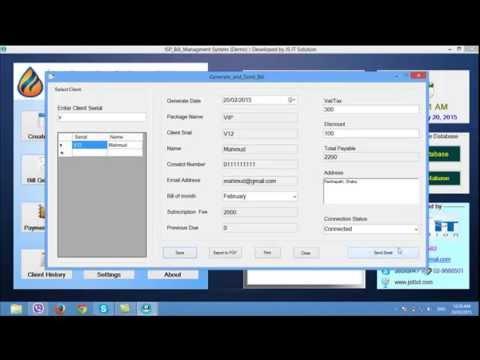 Isp Billing Management Software By Mas Soft Bd