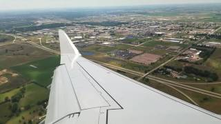 Landing at Sioux Falls, SD 07/31/16