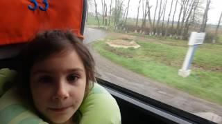 ЛАУРА едет в ЕВРОПУ. ДЕНЬ 1. Переезд в ПОЛЬШУ.
