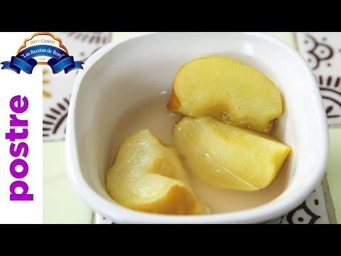 Manzanas cocidas con canela receta deliciosa 💜💜💜 Las Recetas de Rosy