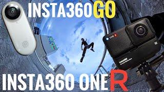 【Insta360 One R】vs【Insta360 Go】真夏の360度タイムラプス!Japan Tokyo【Insta360】【4K】