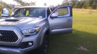Jerry Bass At Massey Toyota In Kinston, N.C. On The Tacoma TRD Sport 4x4 For