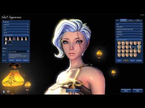 blade soul yun blade master character creation