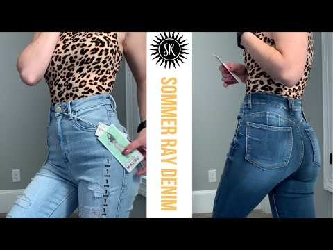 SOMMER RAY DENIM TRY ON & REVIEW | Do I have a Sommer Ray booty now?